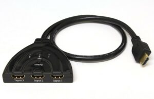3X1 Pigtail HDMI Switcher ( No Power Req. )