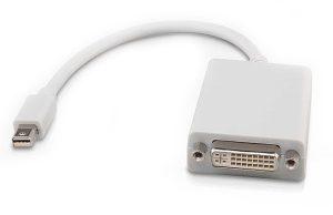 Mini DisplayPort to DVI Adapter-0