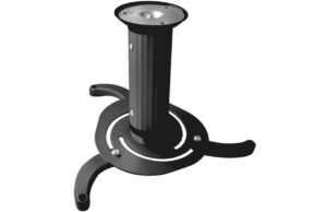 10kgs Universal Ceiling Projector Mount - Black-0