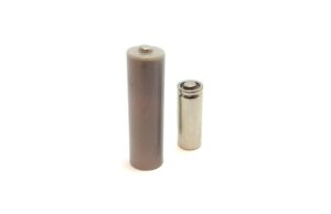 2/3 Size AAA Rechargeable Battery + AA Battery Shell
