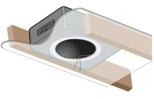 DynaBox Enclosure for In-Ceiling Speakers (single)