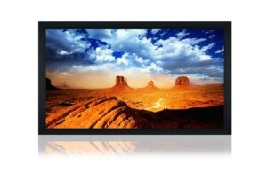 "120"" 16:9 Acoustically Transparent Fixed Frame Screen"
