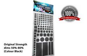 LightDims™ - Original Strength 50%-80% (Colour Black)