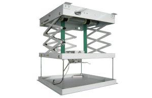 Motorised Projector Lift - Extension 800mm, 450x450x145mm (WxDxH)