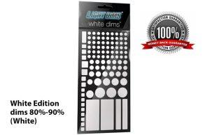 LightDims™ - White Edition, dims 80%-90% (White)