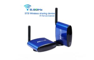 200 Meter 5.8GHz Digital Wireless Audio Video Transmitter and Receiver