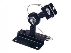Adjustable Speaker Wall Mount Brackets (Black - Pair)