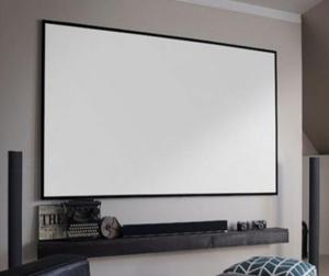 """100"""" 16:9 Slim Fixed Frame Screen"""