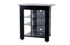 AVS Elite Audio Rack - 4 Shelf - Black