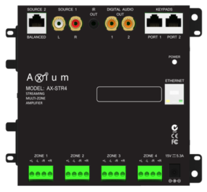 Axium AX-Mini4 Multiroom Amplifier