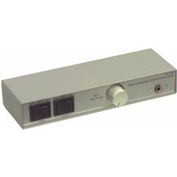 Technolink 2-Channel speaker selector with volume control