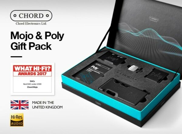 Chord Electronics Mojo/Poly Limited Edition Christmas Gift Pack