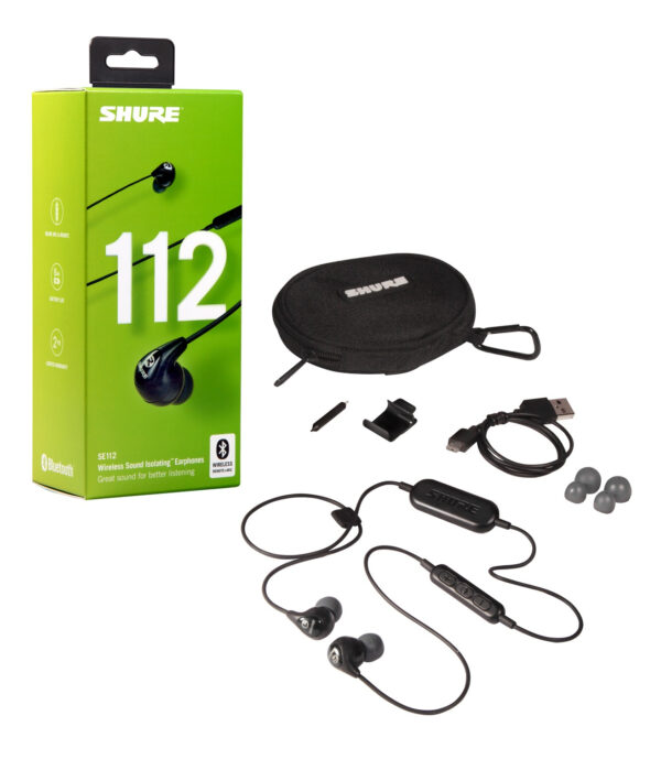 Shure SE112-BT1 Sound Isolating™ Earphones + Bluetooth